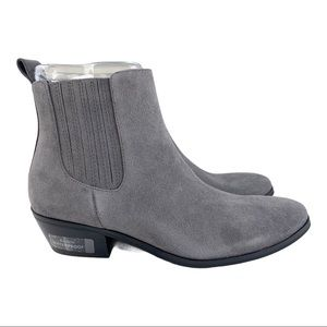 NEW Blondo Sydney Waterproof Gray Suede Booties